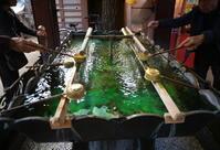 街角スナップ・ 東京巣鴨とげぬき地蔵尊 手水舎 - 天野主税写遊館