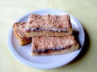 <イギリス菓子・レシピ> ジャム・ココナッツ・スライス【Jam Coconut Slices】 - イギリスの食、イギリスの料理&菓子