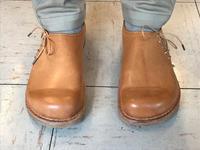ナチュラル サイドレース - 手づくり靴 仄仄工房(ホノボノコウボウ)