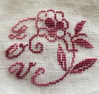 Valentine Motif - 「Stitch +」 haruのクロスステッチ
