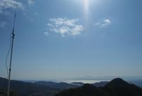 快晴の火の山で運用 - 無線日和