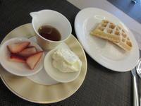 マンダリンオリエンタルの朝ごはん☆Fluffy Waffle☆ - よく飲むオバチャン☆本日のメニュー
