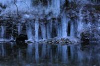 三十槌の氷柱⑤氷の殿堂 - 風の彩り-2