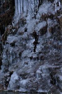 三十槌の氷柱⑥氷の殿堂#2 - 風の彩り-2