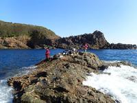 静寂の黒い海(串本町大島) - 第3の釣り
