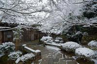 京の雪景色・大原 宝泉院其の一 - デジタルな鍛冶屋の写真歩記