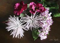 purple flowers - アーティフィシャルフラワー THE LIGHTS(ザ・ライツ)
