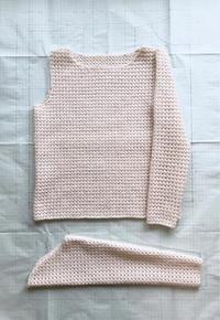 久々に③ - セーターが編みたい!