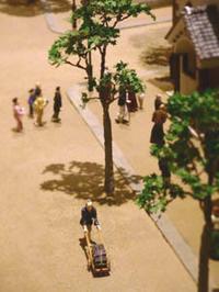 昔の大阪ジオラマ1 - Blue Planet Cafe  青い地球を散歩する