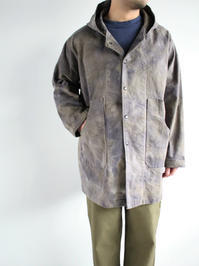 NEEDLESBush Parka - C/Pu Back Sateen / Uneven Dye - Olive - 『Bumpkins putting on airs』