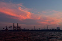 花火ついでに - 僕と埠頭と工場で