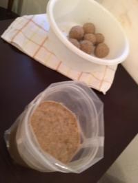 3月味噌作り会のおしらせです。「ひよこ豆味噌」初登場です!その他「黒豆味噌」「麦味噌」「玄米味噌」「米味噌」も作れますよ~♪♪ - miso汁香房(ロジの木)