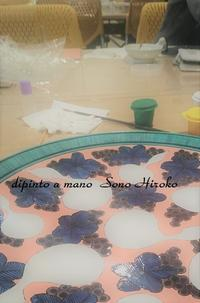 ひょうたんの大皿あともう1回だけ☆ - Italian styleの磁器絵付け