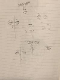 目の練習 - ダラダラお絵描き
