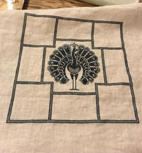 Linen and Threads  Mystery Sampler  ⑤ - いとの色