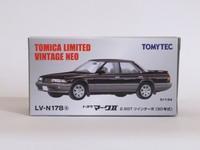 トミーテック・LV-N178a トヨタ マークⅡ2.5GTツインターボ(黒/銀) - 燃やせないごみ研究所
