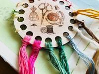 次の作品のための刺しゅう糸 - y-hygge