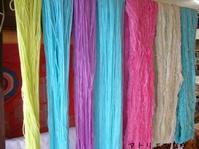 染めたり、織ったり。 - アトリエひなぎく 手織り日記