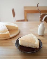 りんごと金柑ママレードの米粉ケーキ。 - Tumugi