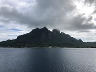 南太平洋クルーズ13(ボラボラ島に到着) - リタイア夫と空の旅、海の旅、二人旅