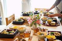 2月は春満載レッスンです -  川崎市のお料理教室 *おいしい table*        家庭で簡単おもてなし♪