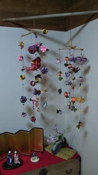春よ来い、手作り雛人形展(その6)吊し雛 - 海辺のキッチン倶楽部もく