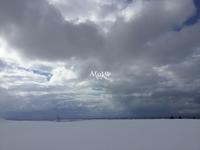 空と雪原 - Aruku