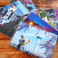 [マリエッタ函館店さん] 4月と5月のあみぐるみのポストカード納品と、オーダーなど♪ - Smiling * Photo & Handmade 2 動物のあみぐるみ・レジンアクセサリー・風景写真のポストカード