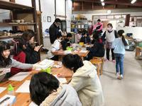 本日の陶芸教室 Vol.852 上絵付体験 - 陶工房スタジオ ル・ポット