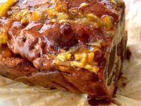 干柿のパウンドケーキなど - 今日のお弁当