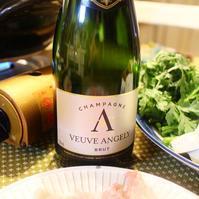 バレンタインのための食卓 - 大好きなワインと素敵な食卓