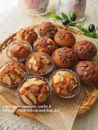 ミニサイズカップケーキ*チョコチップ - nanako*sweets-cafe♪