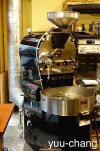 奉還町オンサヤコーヒー焙煎機 - 下手糞PHOTO BLOG