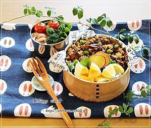 カレーピラフ弁当と今週の作りおき♪ - ☆Happy time☆