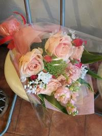 プロポーズの花束 - フラワーショップデリカの花日記