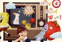 COLLAGE CARD #104 : Wow!「ワォ!」 - maki+saegusa