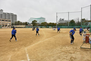 岸城中学練習シリーズ② - Tax-accountant-office ソフトボールブログ