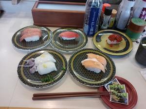 2週続けて「はま寿司」の同じ席? -