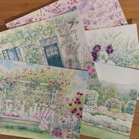 ポストカード Tiny Garden 他 - Kyoko Fukunaga Blog
