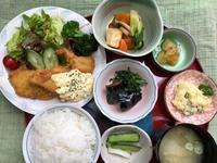 白身魚と海老のフライ★(^^♪・・・・・700円ランチ - 日だまりカフェ