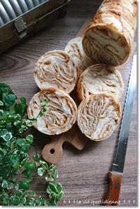 メイプルとマカダミアの三つ編みラウンドパンと公園遊びから長距離を徒歩帰宅! - 素敵な日々ログ+ la vie quotidienne +