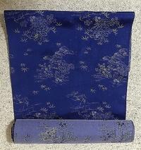 和布でロングワンピースを作ります型紙UP - アトリエ A.Y. 洋裁教室