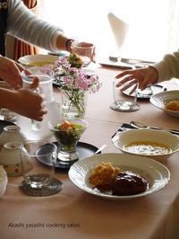 1・2月料理レッスン終了です - ーAkashi Yasashii Cooking Salonー明石 料理教室/家庭料理・おもてなし料理/テーブルコーディネート/明石/垂水/神戸/加古川