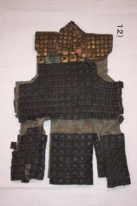 古布木綿漆皮鎧Japanese Antique Textile Shippi-Yoroi - 京都から古布のご紹介