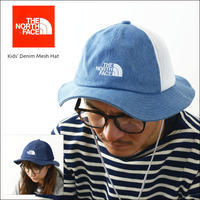 THE NORTH FACE [ザ ノースフェイス正規代理店] Kids' Denim Mesh Hat [NNJ01813] デニムメッシュハット KID'S/LADY'S/UNISEX - refalt blog