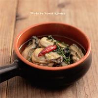 牡蠣のハーブオイル煮 - ふみえ食堂  - a table to be full of happiness -