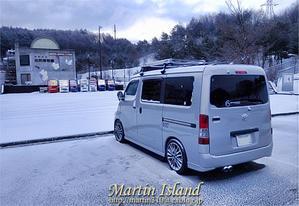 真冬の車中泊旅(2019)-長野 #2塩尻から安曇野へ- - Martin Island ~空と森と水と~