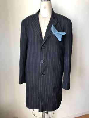 着物リメイク・お着物から紳士ロングコート - harico couture