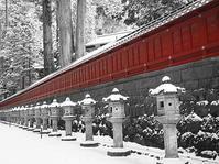 日光東照宮冬赤の印象 - 風の香に誘われて 風景のふぉと缶
