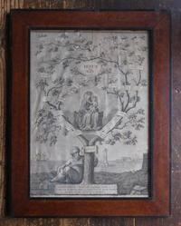 エッサイの樹 旧約聖書 額入りリトグラフ  /F939 - Glicinia 古道具店